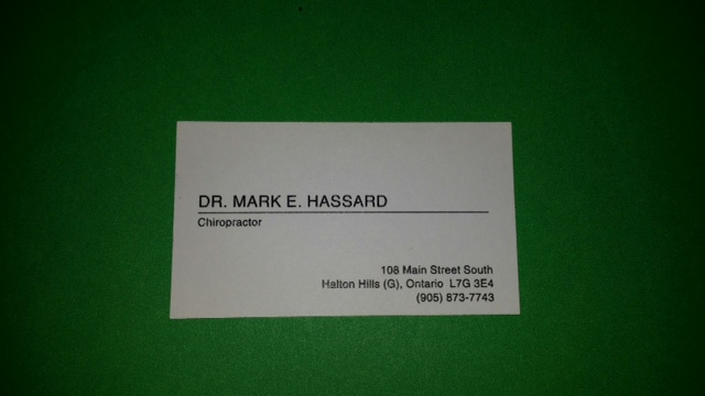 Dr. Hassard