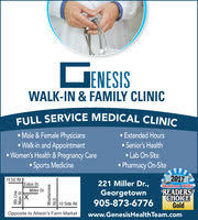 Genesis Walk-in Family Clinic & Pharmacy